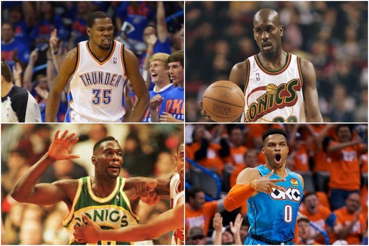 サンダーの「歴代ベスト5」を選定!NBA史に残る2組のデュオは文句なし。最後の1人は初優勝時のメンバーから抜擢 | THE DIGEST