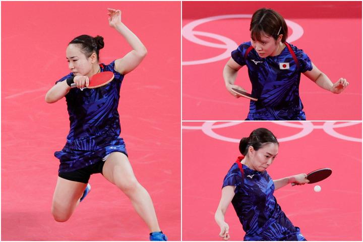 卓球女子団体戦】日本チームが全試合ストレート勝ち!ハンガリー代表を一蹴し準々決勝に進出【東京五輪】 | THE DIGEST