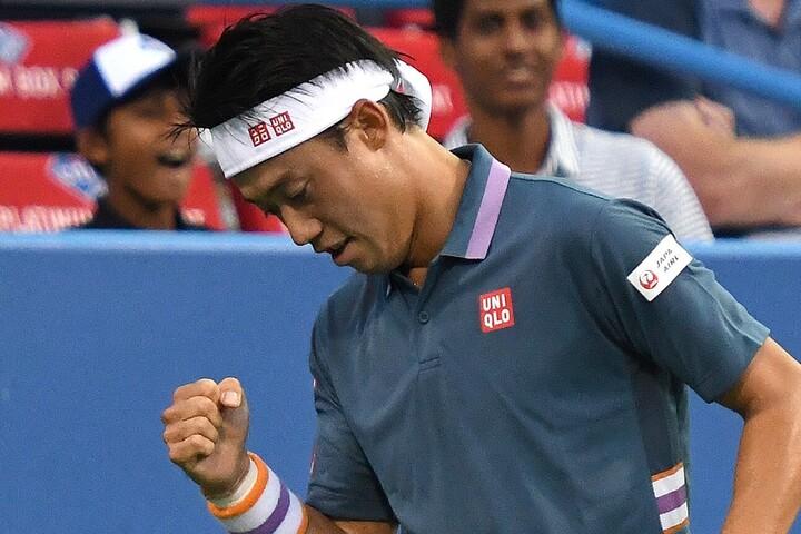 「日本から移動して疲れていたので心配だった」錦織圭、五輪敗退から中4日でツアー参戦。初戦勝利に安堵<SMASH>